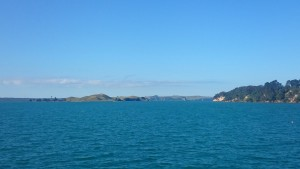 Browns Island, from the Auckland-Half Moon Bay ferry