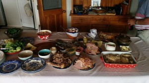 Kiwi Christmas lunch