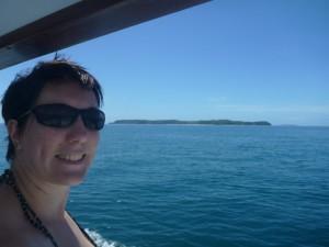 Froginette passing Motuora Island, 3,5 years later!